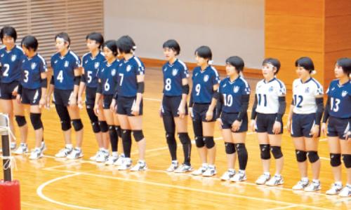 ■女子バレーボール部